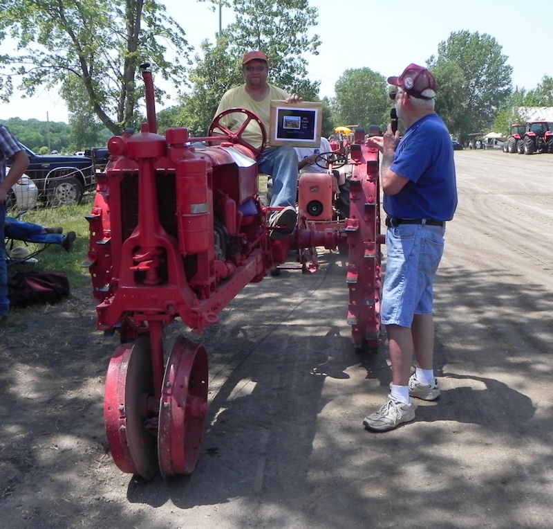 Rodney Stevens on 2011 Tractor of the Year