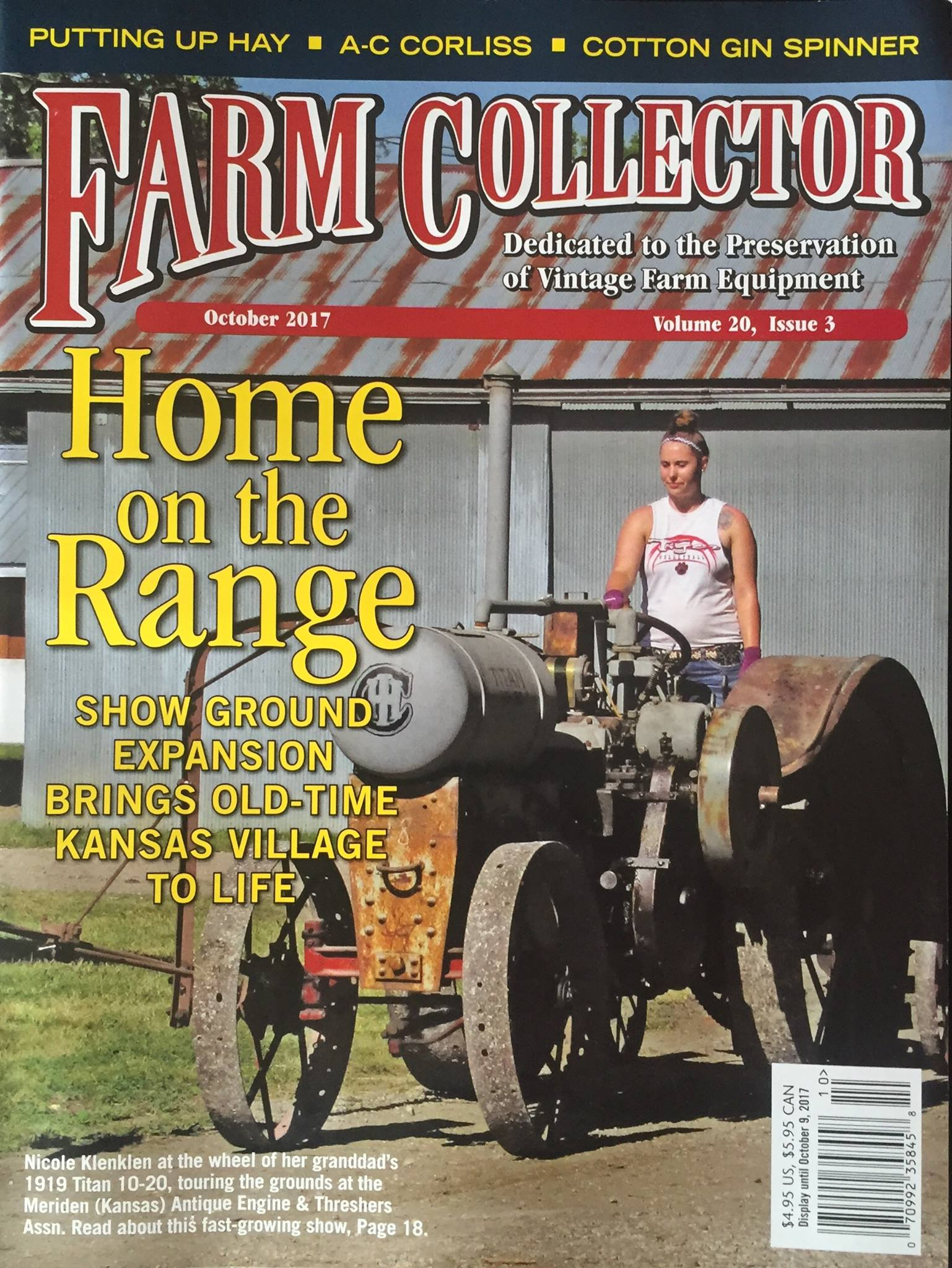 Nicole on Farm Collector Cover